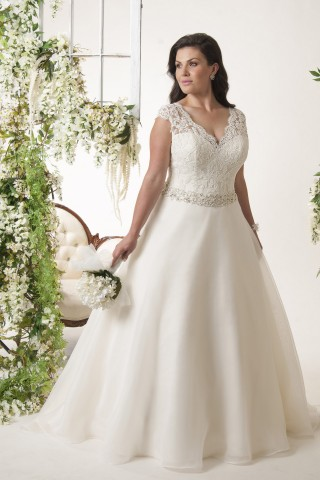 Unveiled Dress Bridal